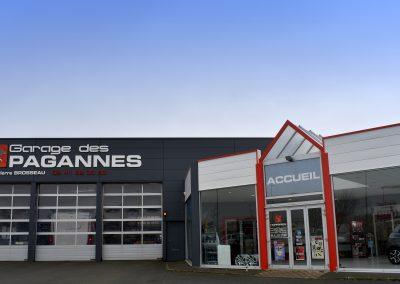 Garage des Pagannes à Cholet
